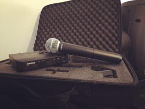 Shure BLX24/SM58 S8 Funkmikrofon