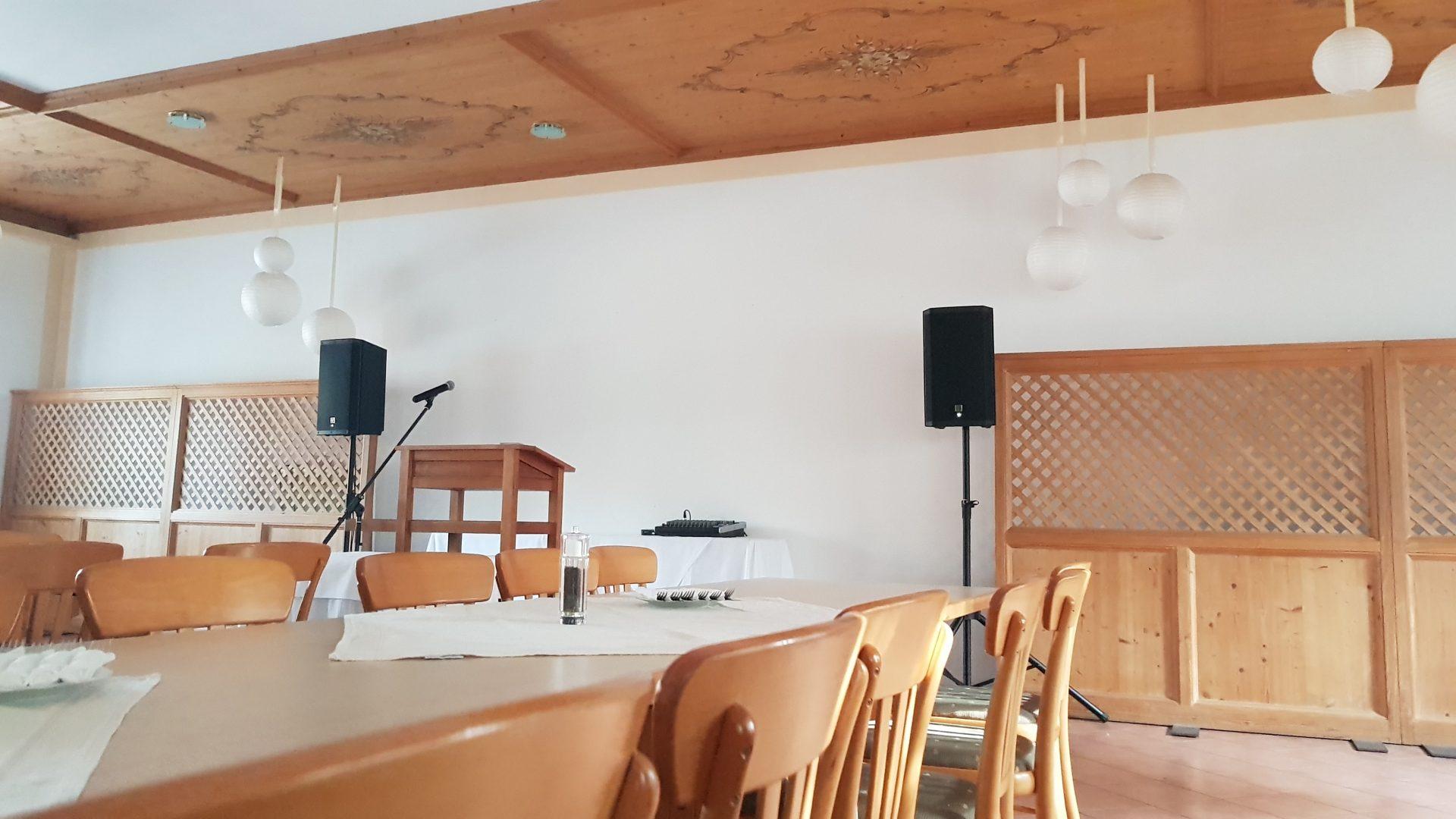 Sprachbeschallung Gasthaus Röhrl